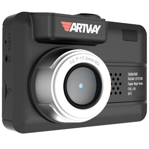 Видеорегистратор с радар-детектором Artway MD-107