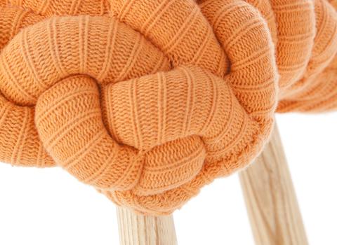 Табуретка Knitted Stools Orange