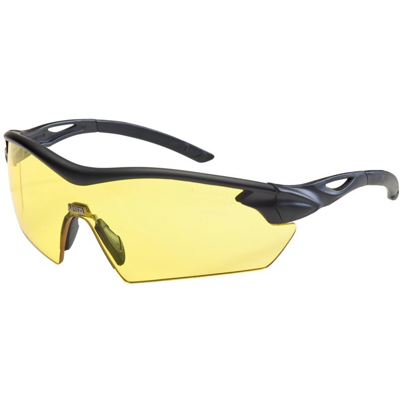 Стрелковые очки MSA Racers, желтые линзы