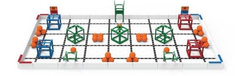 Комплект соревновательного полигона и элементов