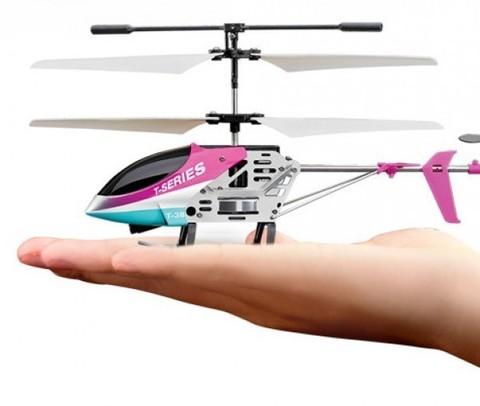 Радиоуправляемый вертолет MJX Thunderbird T38 Red - T38-R