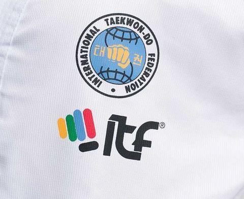 Добок для тхэквондо с поясом ITF Student Dobok белый