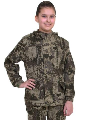 Детский камуфляжный летний костюм Горка (ткань твил PR324)