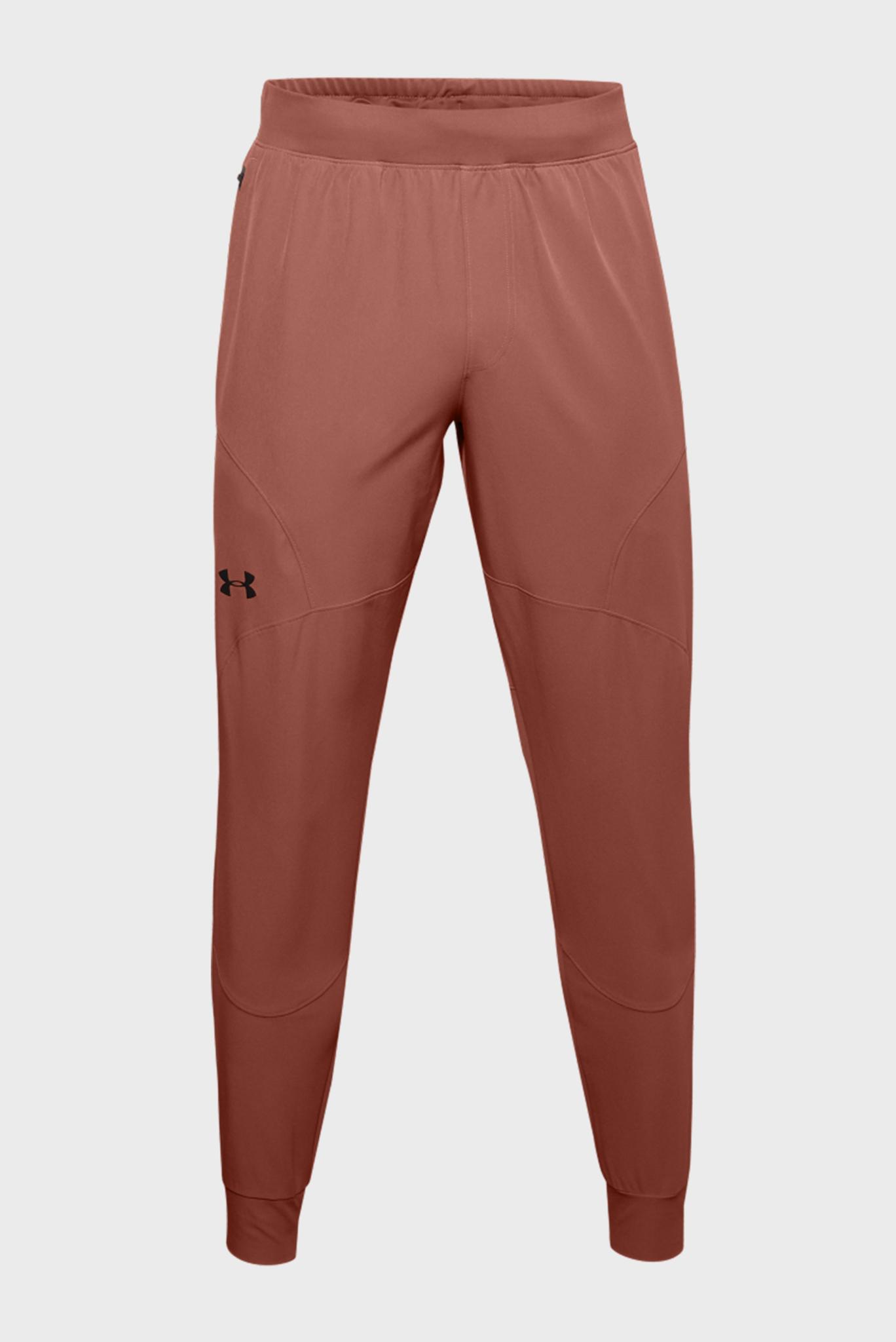 Мужские бежевые спортивные брюки UA FLEX WOVEN JOGGERS Under Armour