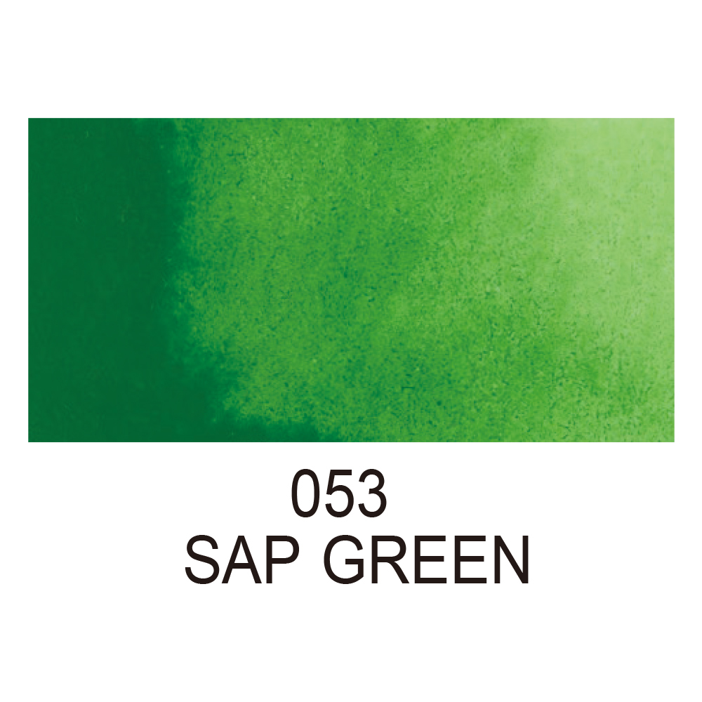 Купить акварель Kuretake Gansai Tambi No.53 SAP GREEN