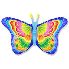 F Фигура, Бабочка кокетка, Синий, 32