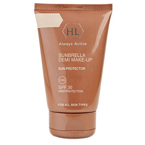 Holy Land Sunbrella: Солнцезащитный крем с тоном (Sunbrella DEMI Make-Up SPF30)