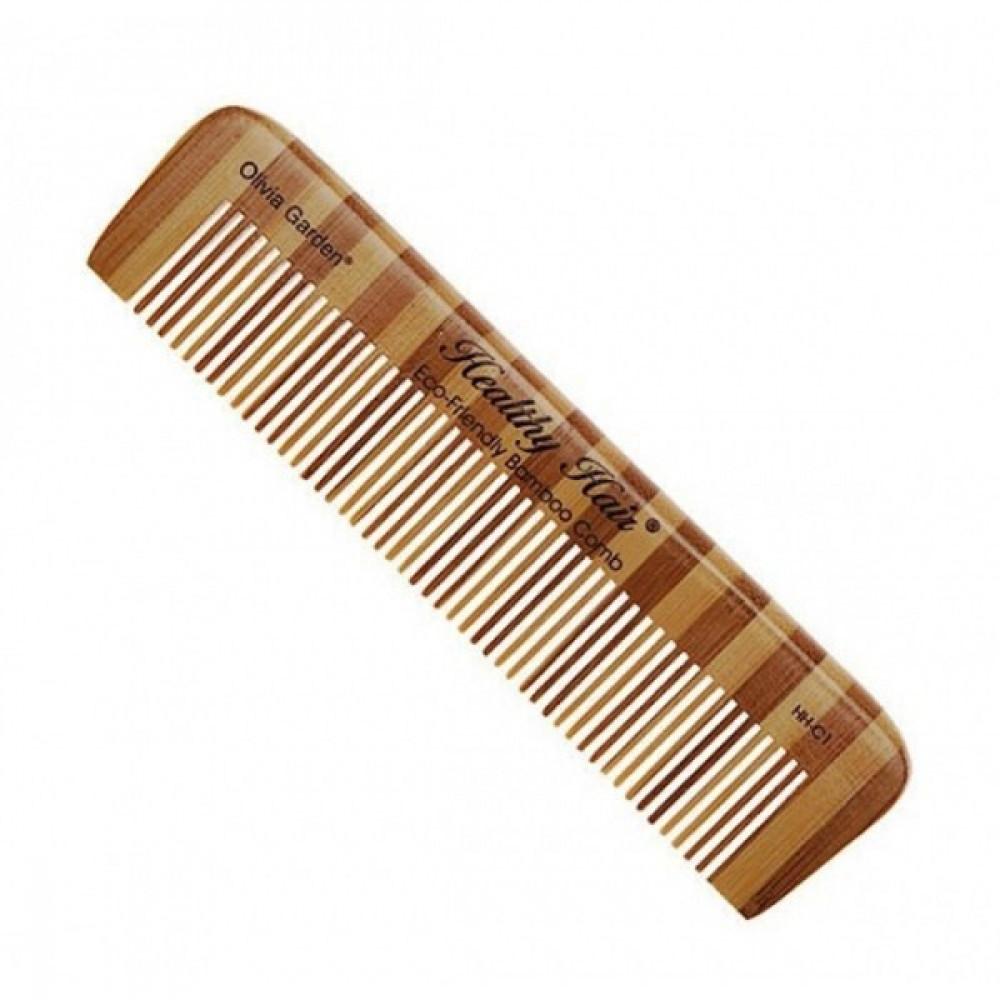 Расческа для стрижки бамбуковая Comb 1