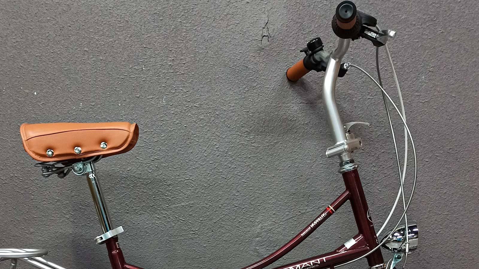 седло и руль складного велосипеда MyPallas M260