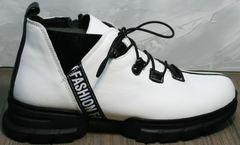 Низкие ботинки женские Ripka 146White