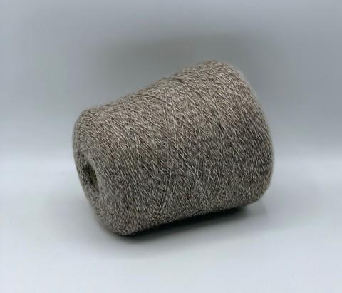 Бобинная пряжа MILLEFILI (пр.Италия),art.WENDY 430м/100гр, 42% шерсть 25% мохер 33%полиамид , цвет-Полевая мышь, мулине ,арт-9004