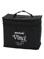 Mazari Vinci Black набор маркеров для скетчинга 100 шт двусторонние спиртовые пуля/долото 1.0-6.2 мм