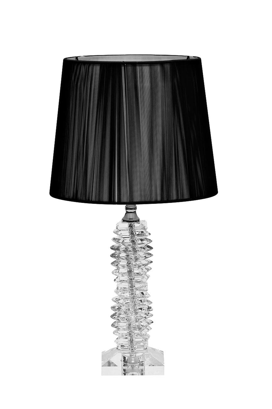 X71207BL Лампа настольная черный плафон 14х14х51 см