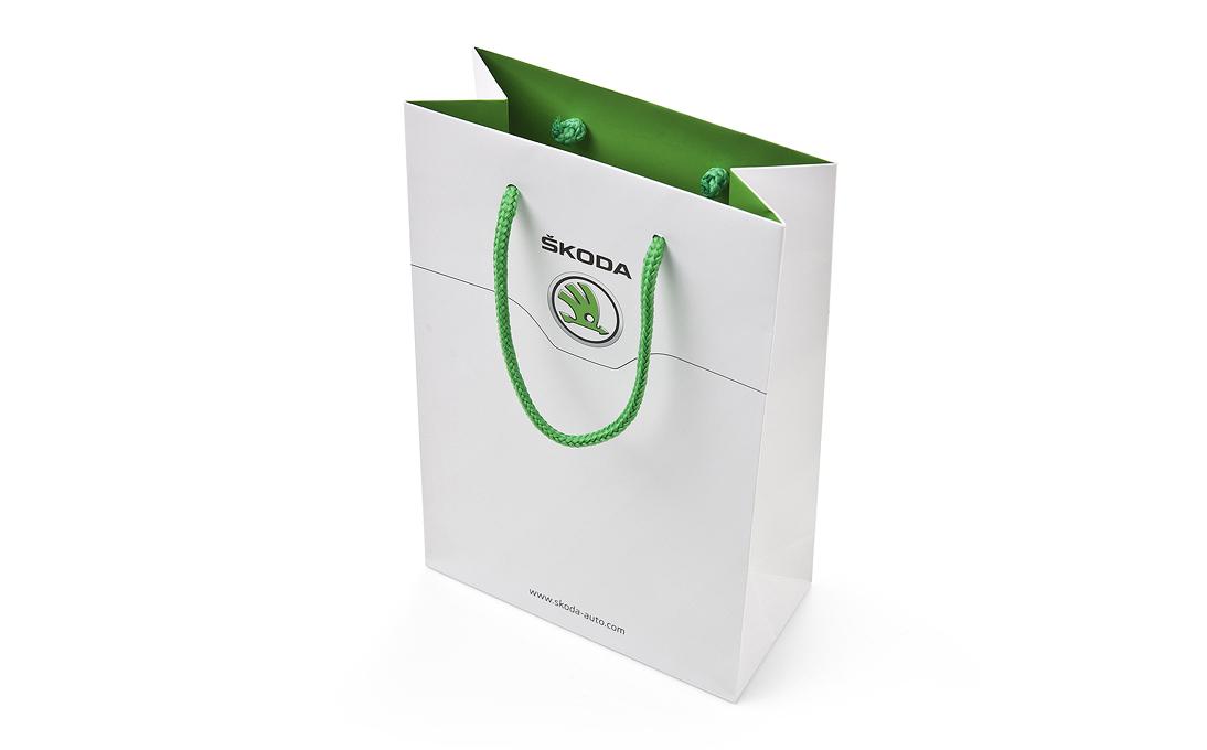 Бумажный пакет Skoda