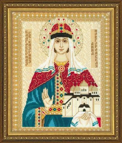 Набор для вышивания крестом «Св. Анна Новгородская» (1454)