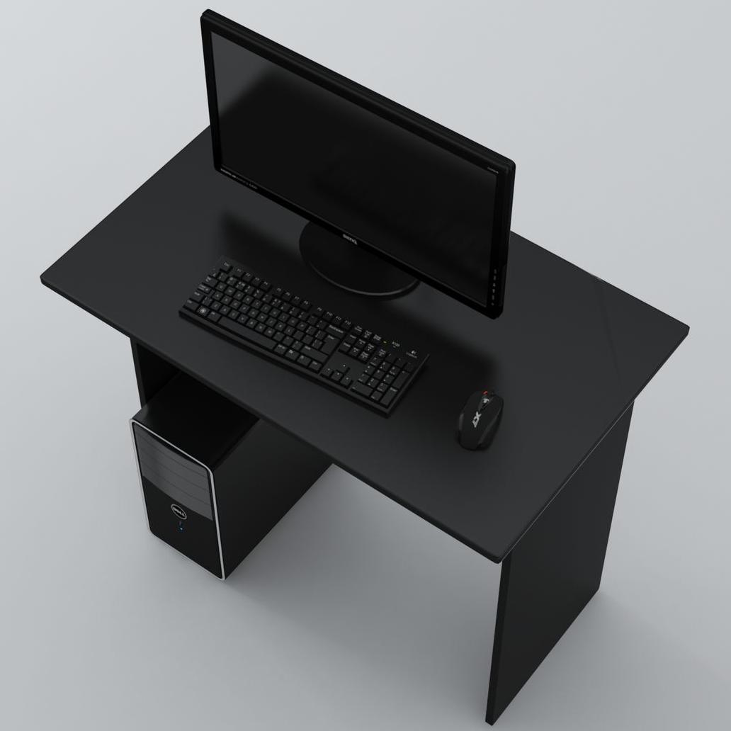 Стол Письменный Ascetic 900 Черный