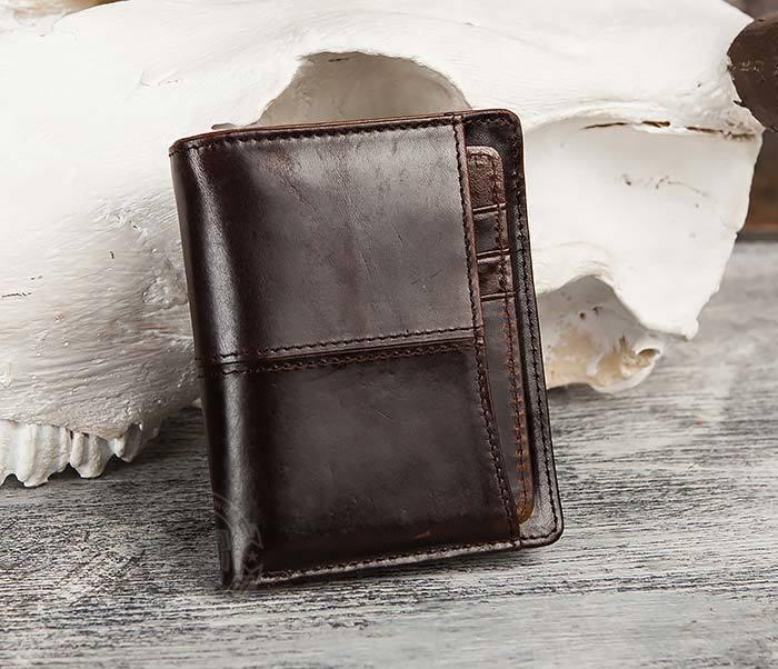 WL297-2 Классическое мужское портмоне со съемным кардхолдером