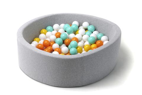 Сухой бассейн Anlipool 100/40см Mint orange