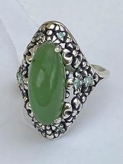 Марта (кольцо из серебра)