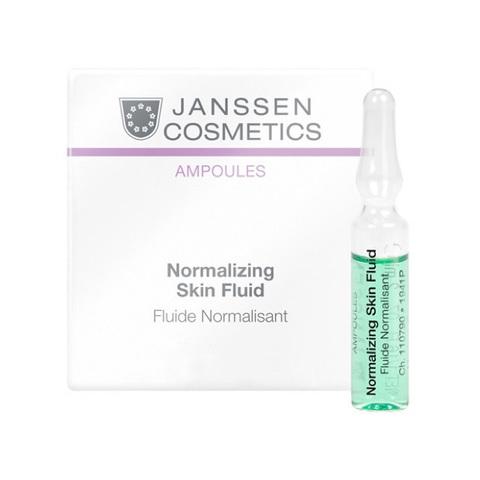 JANSSEN | Нормализующий концентрат для ухода за жирной кожей / Normalizing Fluid