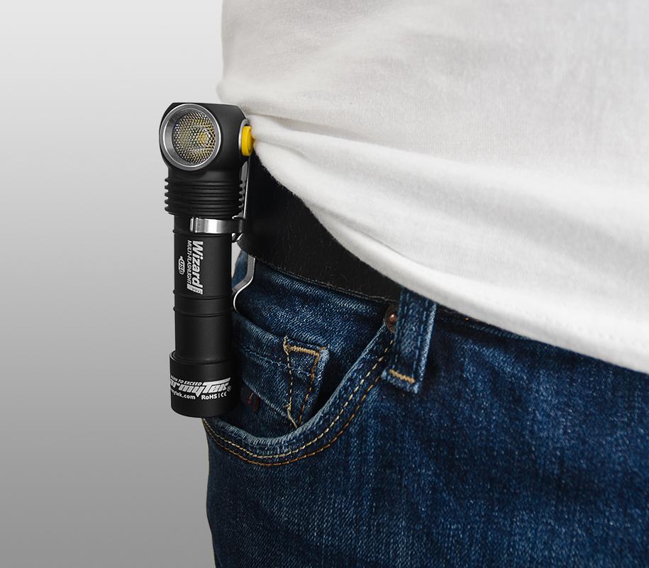 Мультифонарь Armytek Wizard Pro Magnet USB (тёплый свет) - фото 3
