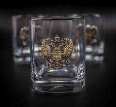 Подарочный набор стаканов для виски «Российский стандарт», фото 2