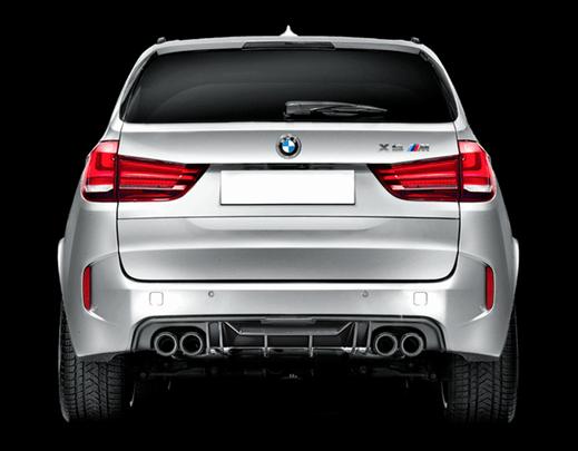 Карбоновый диффузор  для BMW X5 M F85