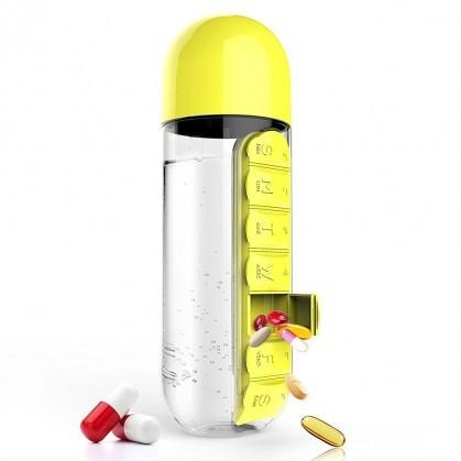 Товары для отдыха и путешествий Бутылка для воды с таблетницей da74d39d723701016df8e8ee02dc9028.jpg