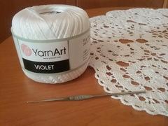 Violet YarnArt (100% мерсеризованный хлопок, 50гр/270м)