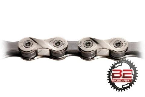 Велосипедная цепь КМС X-9,93 silver/gray