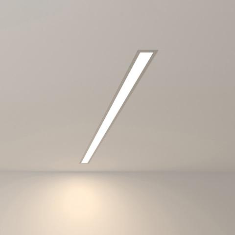 Линейный светодиодный встраиваемый светильник Elektrostandard 101-200-30-103 подвесной односторонний 20W 4200K 103 см серебро матовое