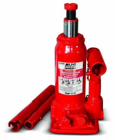 Домкрат гидравлический AVS HJ-B2000, 2т, 158-308 мм