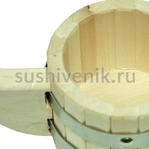 Ковш-черпак бондарный для бани, 0,4 л