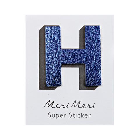 Стикер из кожзама H