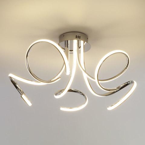 Потолочный светодиодный светильник 90068/5 хром