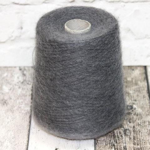 Кидмохер 2000 темно-серый меланж