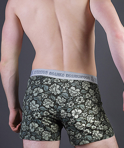 "Men's trunks VELIKOROSS ""Brick wall"""
