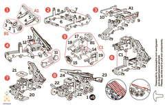Катюша UNIT (UNIWOOD) - Инструкция - Деревянный конструктор, 3D пазл, сборная модель