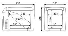 Купить Термоэлектрический автохолодильник Dometic TropiCool TCX-14 от производителя недорого.