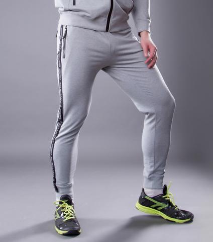 "Grey melange sweatpants ""VELIKOROSS"""