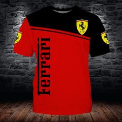 Футболка 3D принт, Ferrari (3Д Феррари)