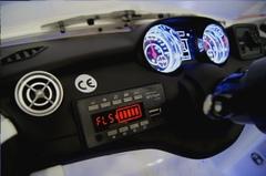 детская машина Mercedes Benz CLA45 приборная панель