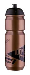 Велобутылка Force, BIO, 750мл, бронзово/черная