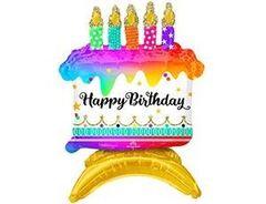 А Фигура, Торт, Happy birthday! На подставке, 14
