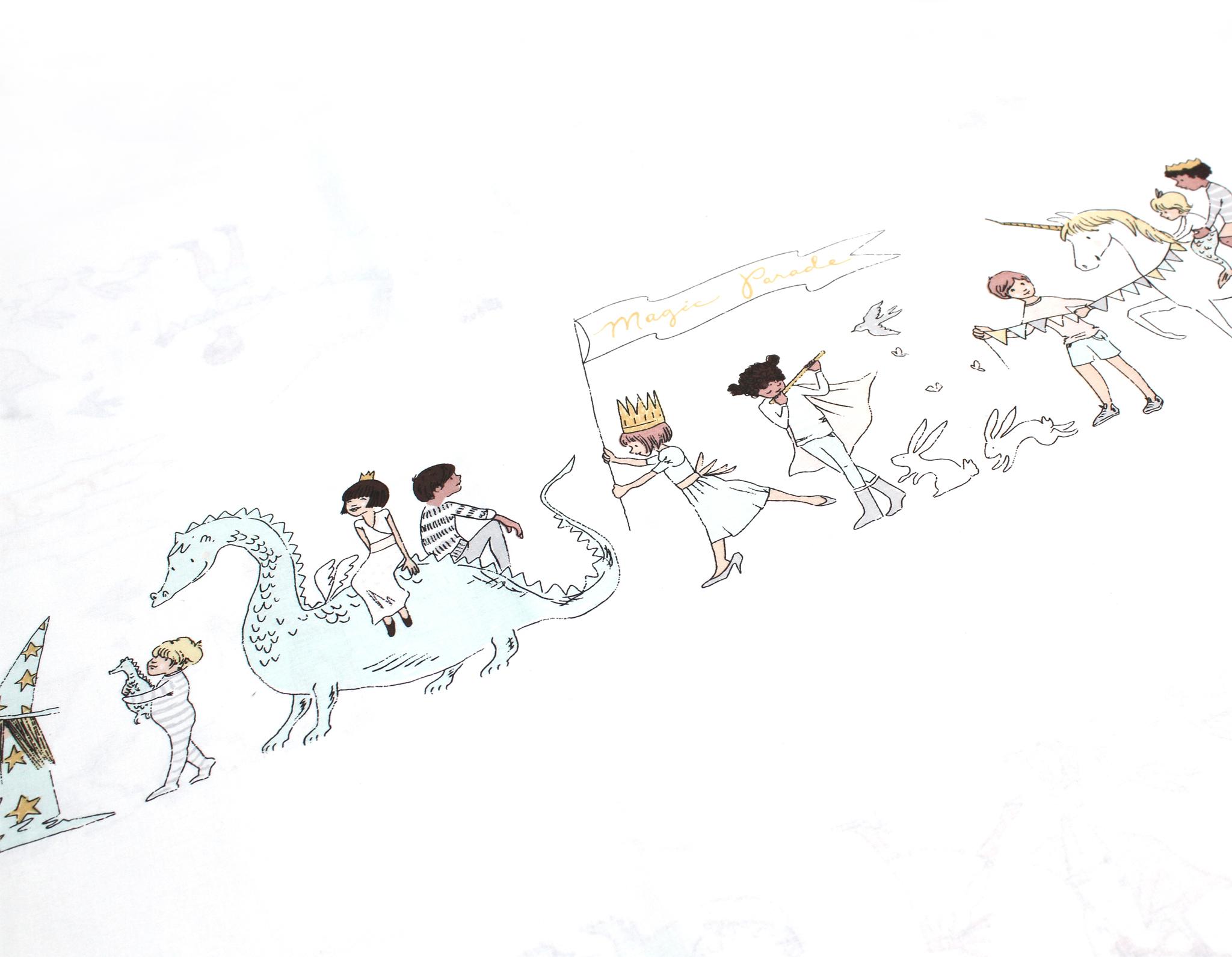 Парад на белом,Турция,240 см