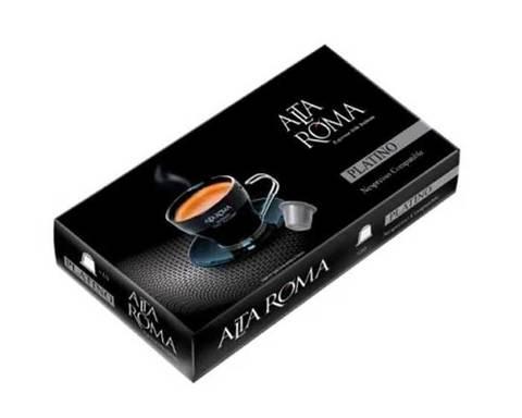 Кофе в капсулах Alta Roma Platino, 10 капсул для кофемашин Nespresso
