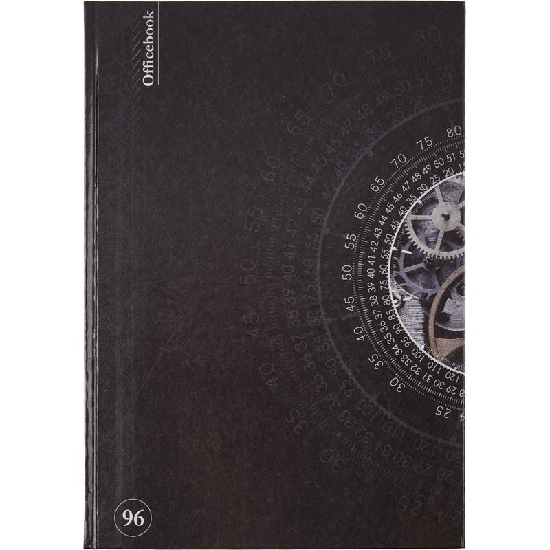 Книга учета бухгалтерская офсет А4 96 листов в линейку на сшивке (обложка - ламинированный картон)