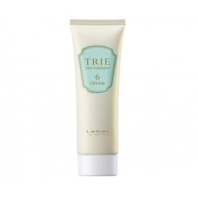 Lebel Trie: Матовый крем средней фиксации для укладки волос (Powdery Cream 6), 80г