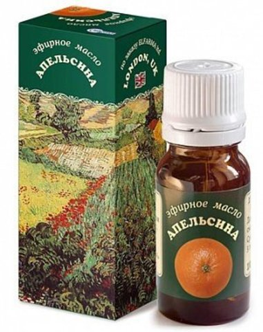 Эфирное масло Апельсина, 10 мл