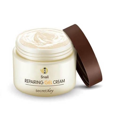 Крем-гель для лица с муцином улитки SECRET KEY  Snail Repairing Gel Cream
